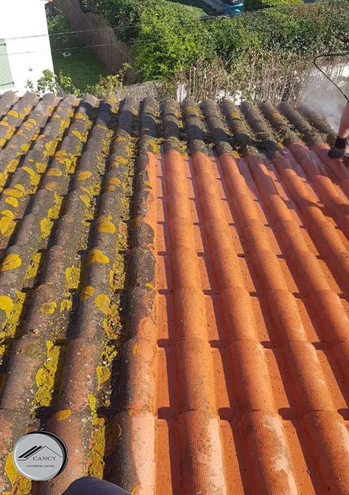 Nettoyage des toitures | Entretien des tuiles | Cancy couverture toiture